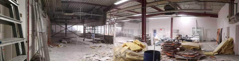 Baueinsatz im Schwabenheimer Weg 111